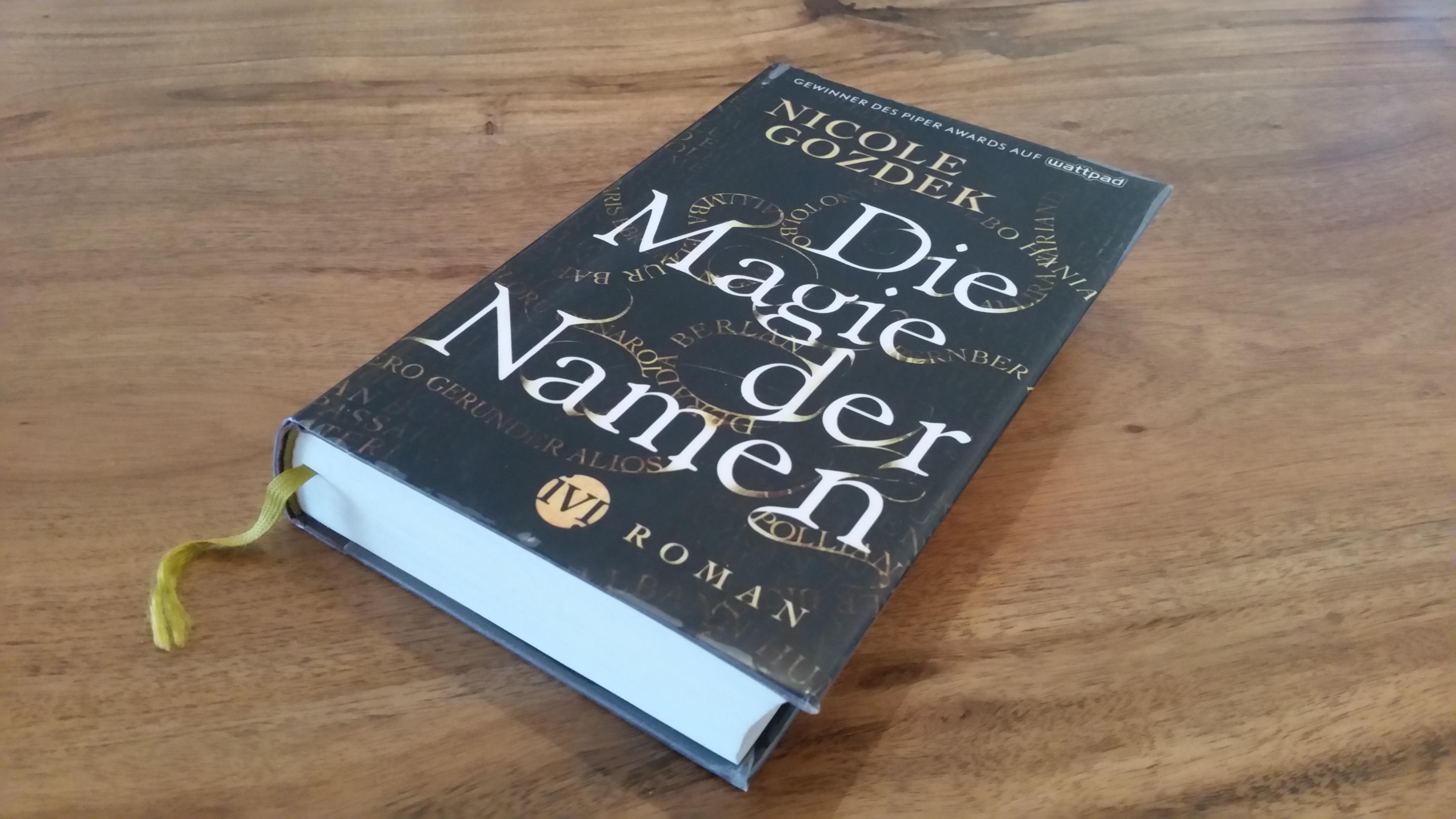 Cover Die Magie der Namen